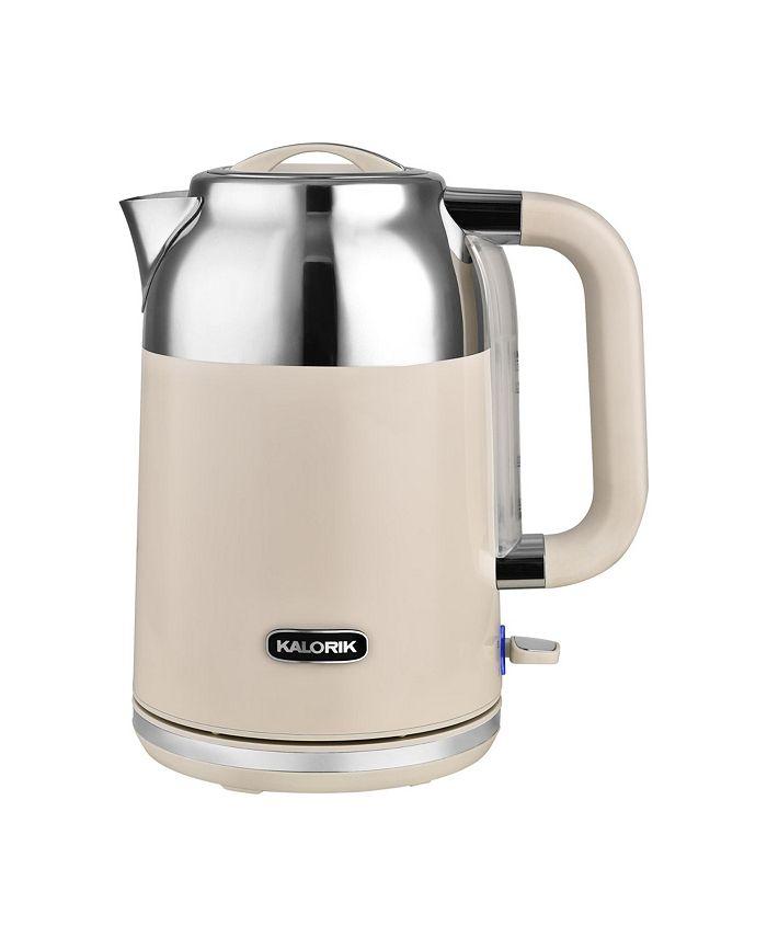 Kalorik - 1.7 Liter Retro Electric Tea Kettle