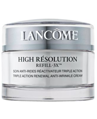 High Résolution Refill-3X Anti-Wrinkle Moisturizer Cream, 2.6 oz