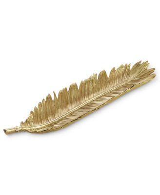 Gold Sago Palm Bread Plate