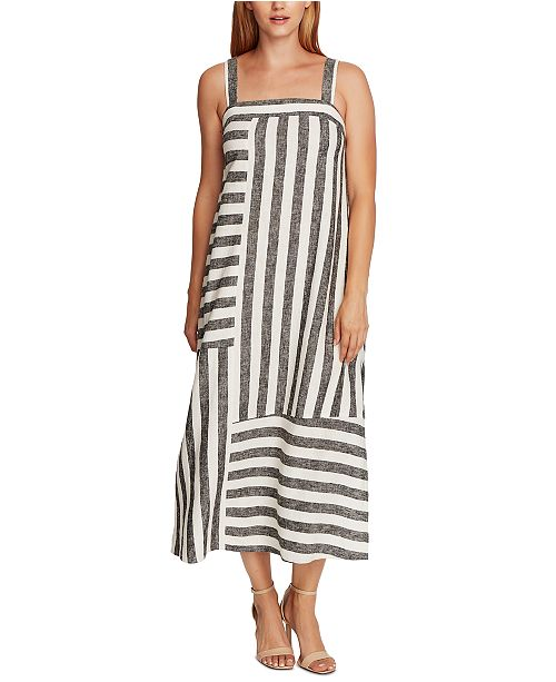 Vince Camuto Petite Striped Dress