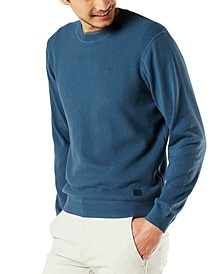 Men's Regular-Fit Textured Sweater, Created for Macy's