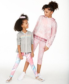 Little & Big Girls Hearts, Tie-Dye and Print Tops & Bottoms, Created for Macy's