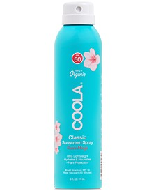 Classic Body Organic Sunscreen Spray SPF 50 - Guava Mango, 6-oz.