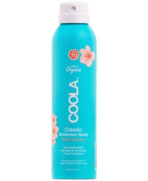 Classic Body Organic Sunscreen Spray Spf 70