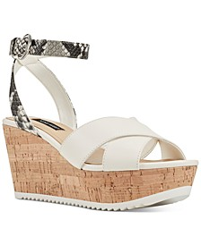 Dureen Platform Wedge Sandals