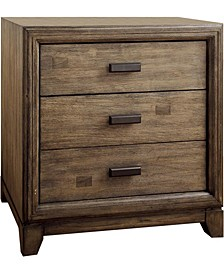 Muttex 3-drawer Nightstand