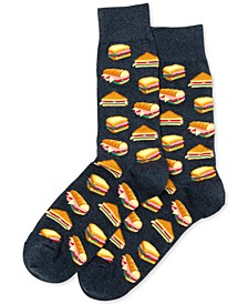 Men's Sandwiches Crew Socks