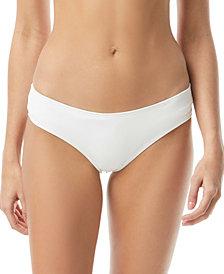 Vince Camuto Riviera Shirred Cheeky Bikini Bottoms