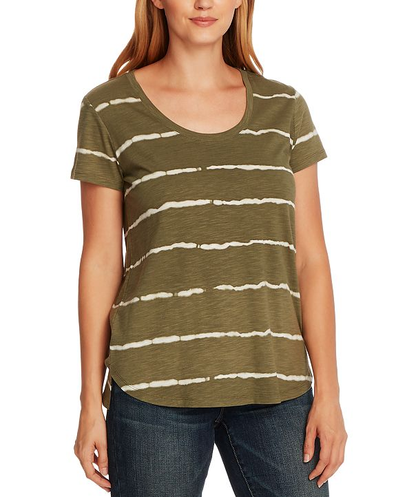 Vince Camuto Women's Linear Whispers T-shirt