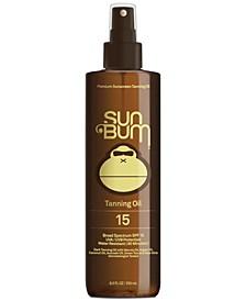 Premium Tanning Oil SPF 15, 8.5-oz.