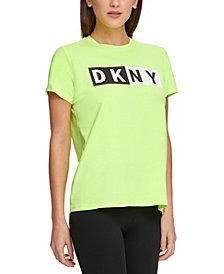 DKNY Sport Colorblocked-Logo T-Shirt