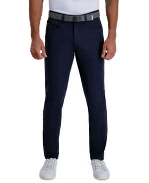 Haggar Men's Active Series Slim-Fit Stretch Tech Dress Pants