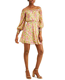 LEYDEN Off-The-Shoulder Mini Dress