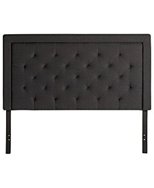 Upholstered Headboard with Diamond Tufting, King