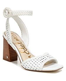 Women's Danee Woven Dress Sandals