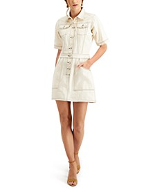 Rika Cotton Denim Shirtdress