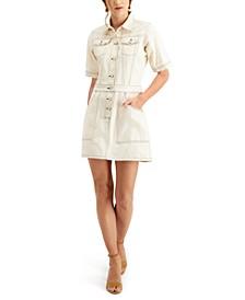 Rika Cotton Denim Shirtdress