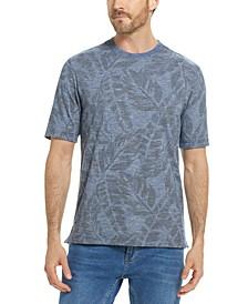 Men's Leaf Print T-Shirt