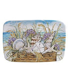 By the Sea Rectangular Platter