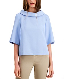 Kailee Funnel-Neck Top