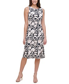 Sorrento Printed Dress