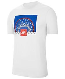 Men's Sportswear Photo Basketball T-Shirt