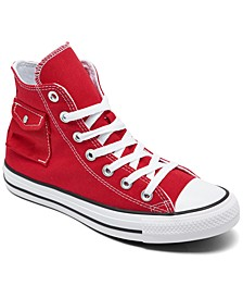 Unisex Chuck Taylor All Star Pocket High Top Casual Sneakers from Finish Line