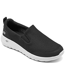 Men's GOwalk Max Clinched Slip-On Casual Sneakers from Finish Line