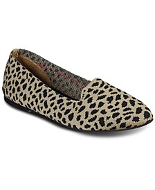 Women's Cleo Knitty Kitty Slip-On Casual Ballet Flats from Finish Line