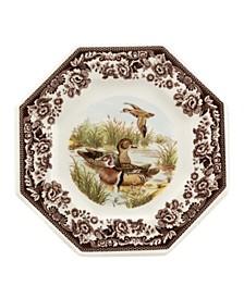 Woodland Wood Duck Octagonal Plate