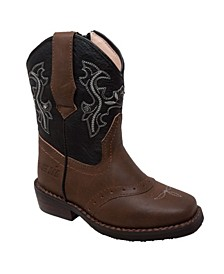 Toddler Boys Western Light Up Boot