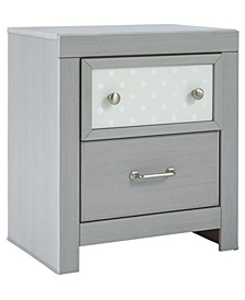 Arcella Two Drawer Nightstand