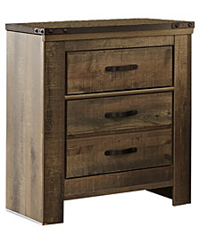 Signature Design by Ashley Trinell Two Drawer Nightstand