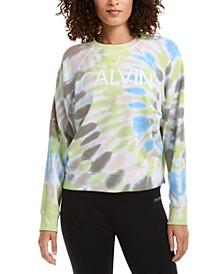 Logo Tie-Dyed Sweatshirt
