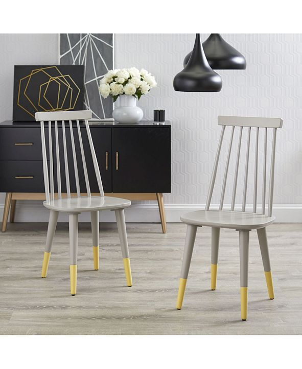 Buylateral Angelo Home Hermosa Dining Chair Set of 2 ...