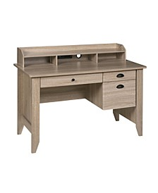 Executive Desk with Hutch, USB and Charger Hub