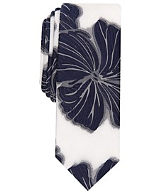 INC Men's Skinny Floral Tie, Created for Macy's