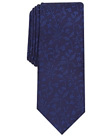 Men's Gregory Skinny Floral Tie, Created for Macy's