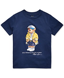 Toddler Boys CP-93 Bear Cotton Jersey T-Shirt