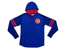 Chicago Cubs Men's Midweight Applique Hoodie