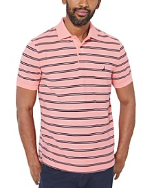 Striped Classic-Fit Deck Polo