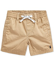 Baby Boys Cotton Twill Shorts
