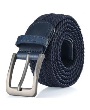 Men's Big and Tall Elastic Braided Stretch Belt
