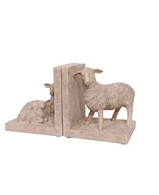 Sheep Shaped Bookends