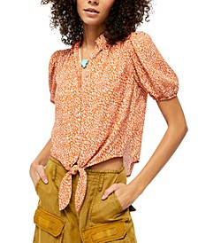 Celia Printed Top