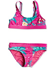 Toddler & Little Girls 2-Pc. Magical Sea Swimsuit
