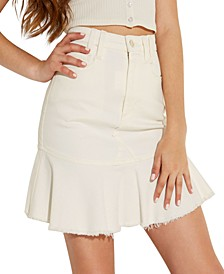Bloom Peplum Mini Skirt