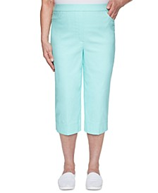 Women's Missy Spring Lake Allure Stretch Capri Pants