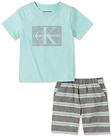 Baby Boys T-Shirt and Shorts Set
