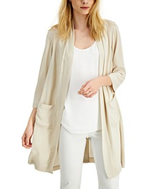 Woven Open-Front Cardigan, Created for Macy's